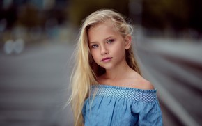 Picture portrait, girl, Zubair Aslam