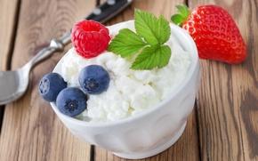 Picture berries, raspberry, blueberries, strawberry, fresh, strawberry, blueberry, cheese, berries, raspberry