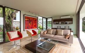 Picture room, interior, living room, Home Guazuma