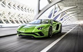 Wallpaper Lamborghini, Lamborghini, Aventador, 2017 Lamborghini Aventador S