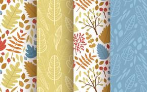 Picture texture, patterns, autumn, elements