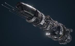 Picture transport, ship, camera, Board, USR Colossus