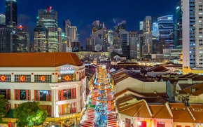 Picture Singapore, skyline, Singapore, Chinatown