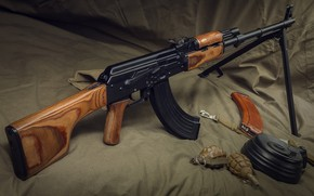 Picture weapons, weapon, machine gun, The PKK, machine gun, RPK