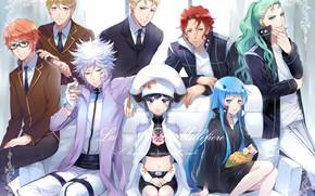Picture anime, girl, guys, Katekyo Hitman REBORN!