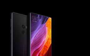 Wallpaper logo, technology, smartphones, Xiaomi MI MIX, Xiaomi, Xiaomi MI