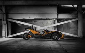 Picture beautiful, comfort, hi-tech, Polaris, Slingshot, technology, sporty, tricycle, 012