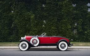 Picture Retro, Machine, Convertible, Car, Speedster, 1929, Boattail, Auburn, 8-90