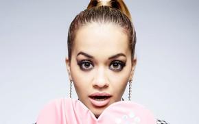Picture eyes, face, portrait, Rita Ora
