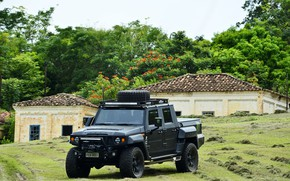 Picture made in Brazil, 3, Agrale, military and civil vehicle, manufactured in Santa Catatarina, export type …