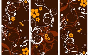 Picture Vector, collection, Floral, banners