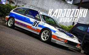 Wallpaper civic, honda, civic, Honda, kanjo