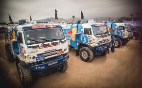 Picture Truck, Master, Russia, Kamaz, Rally, Dakar, KAMAZ-master, Dakar, Rally, KAMAZ, 507, 502, RedBull, Master, Contest, …