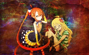 Picture girls, mix, anime