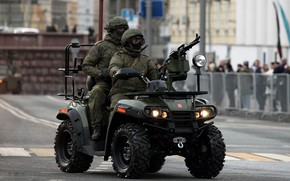 Wallpaper special forces, army, ATV AM 1