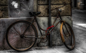 Picture bike, the city, street