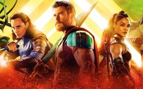 Picture Hulk, Ragnarok, Lightning, Warrior, Gladiator, Marvel, Pearls, Thor, Idris Elba, God, Benedict Cumberbatch, Chris Hemsworth, …