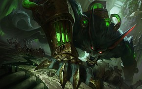 Picture The game, Look, Teeth, Evil, Fangs, Claws, Game, League of legends, LoL, Tail, Look, League ...