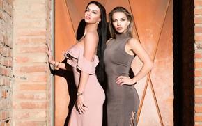 Picture look, dress, Anastasia, model, Olga