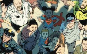 Picture Look, Smile, People, T-shirt, Child, Hero, Superman, Comic, Cloak, Superhero, Hero, Smile, Symbol, Smiling, Superman, …