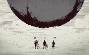 Picture Hunter, Destiny, Warlock, Titan, Traveller, Destiny 2