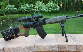 Picture weapons, machine, weapon, custom, custom, Kalashnikov, AKM, AKM, assault rifle, assault Rifle, Boar, Vepr