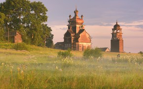 Picture temple, Arkhangelsk oblast, Turcasovo