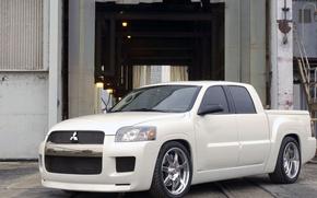 Picture Concept, Mitsubishi, pickup, Street Raider