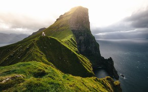 Picture Nature, Sea, Rocks, Lighthouse, Landscape