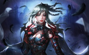 Picture the game, art, Final Fantasy, character, Aranea Highwind
