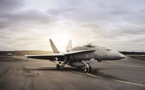 Wallpaper weapons, the plane, FA-18 Hornet