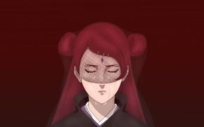 Picture red, girl, game, red hair, woman, anime, redhead, asian, manga, Uzumaki, japanese, oriental, jinchuuriki, asiatic, …