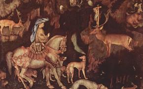 Picture Antonio Pisanello, Eustacio, p. 1438-1442., Vision-of-San, The Vision Of Saint Eustace