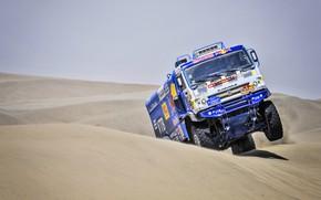 Picture Sand, Auto, Truck, Race, Master, Lights, Russia, 500, Kamaz, Rally, Dakar, Dakar, Rally, KAMAZ, The …
