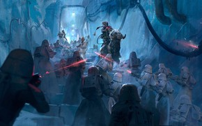 Picture The Job, ILM Art Department Challenge, the tunnel, warriors