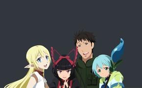Picture kawaii, girl, game, soldier, anime, pretty, man, face, blade, brunette, elf, asian, cute, warrior, manga, …