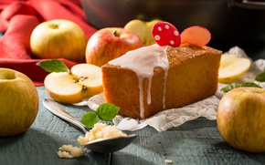 Picture apples, cakes, cupcake