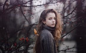 Picture look, girl, Sergey Piltnik