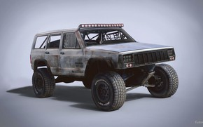 Picture car, Trophy Rat, 1998 Jeep Cherokee