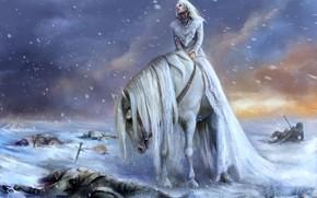 Wallpaper Mane, Horse Background, Woman Wallpaper