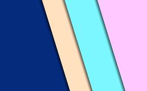 Wallpaper line, blue, green, design, beige, background, color, material