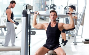 Picture look, pose, fitness, muscle, muscle, trainer, athlete, fitness, bodybuilder, training, Gym, bodybuilder, gym