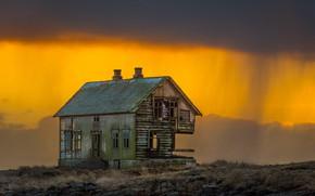 Picture Norway, abandoned house, Norway, Nordland, Klakken, Toralf-house