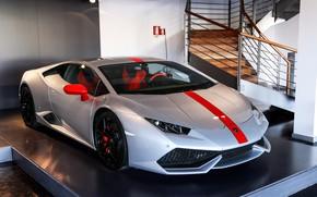 Picture Lamborghini, Pavilion, Silver, Huracan