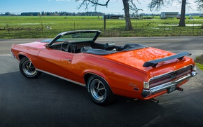 Picture style, 1969, classic, Mercury, Cougar Convertible