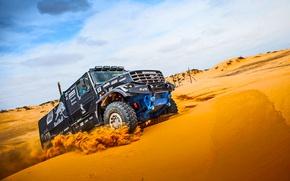 Picture Sand, Black, Master, Kamaz, Rally, Dakar, KAMAZ, Dune, Kapatnik