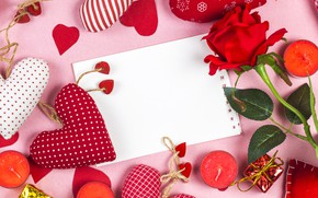 Picture love, holiday, roses, heart, love, Valentine's day, hearts