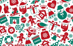 Wallpaper background, vector, texture, christmas, winter, background, pattern, seamless