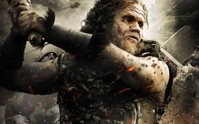 Picture cinema, sword, 2011, army, movie, ken, blade, Conan The Barbarian, film, shield, pearls, arrow, Ron …