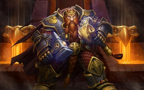 Picture World of Warcraft, Warcraft, wow, dwarf, King Magni, Magni Bronzebeard